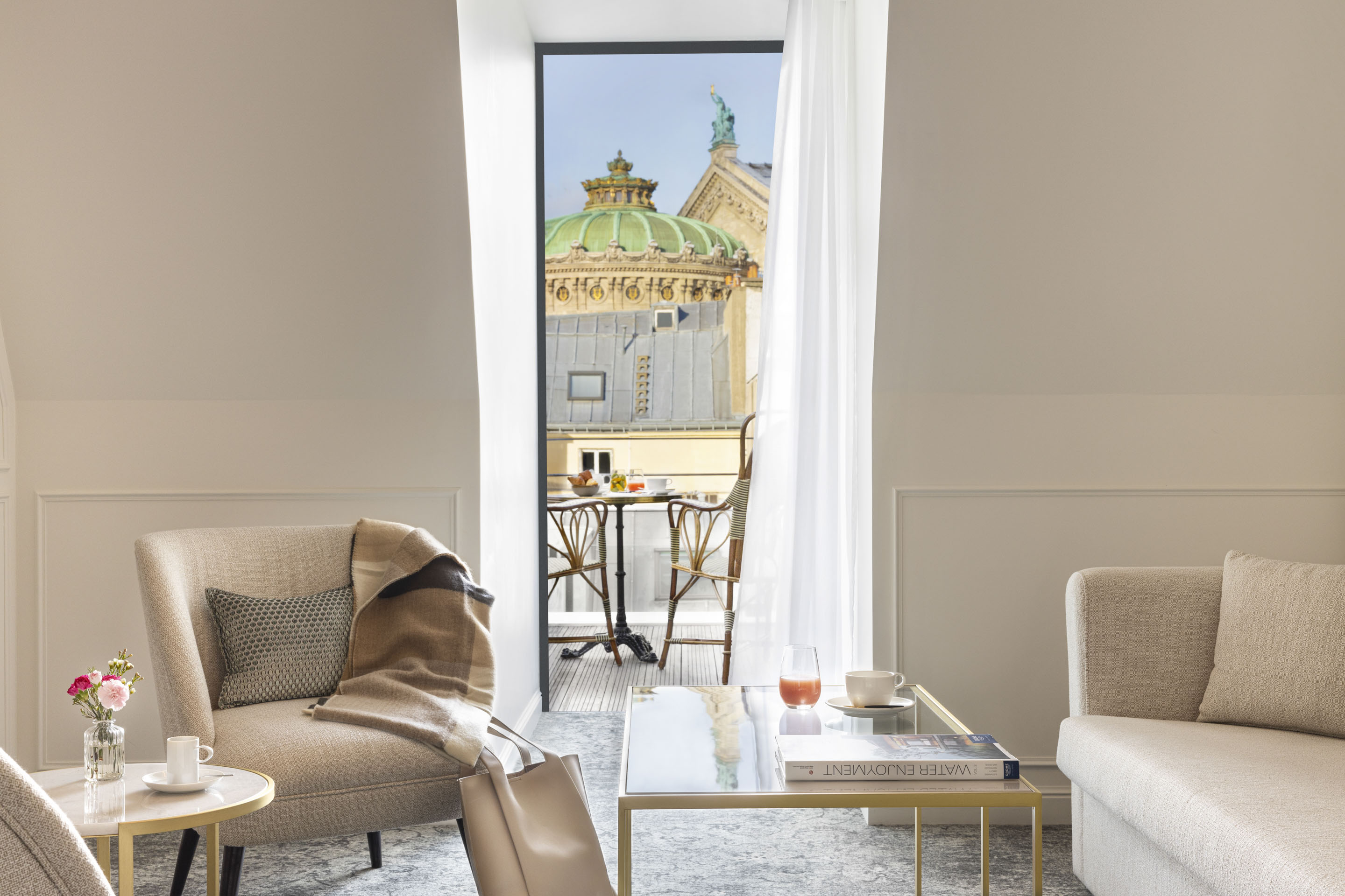 Maison Albar Hotels Le Vendome Opera Suite view